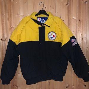 Vintage Pittsburg Steelers Pro Layer Jacket
